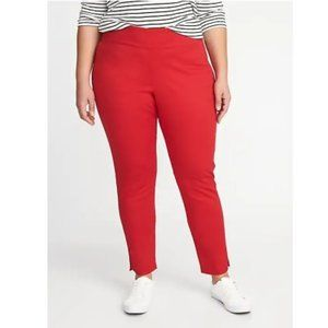 SHORT Old Navy High Rise Wow Pant Red 26S